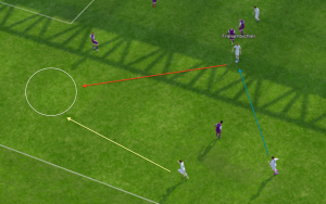 Jonathan demonstriert auf seinem Blog u.a. die Funktionsweise des mobilen Zielspielers