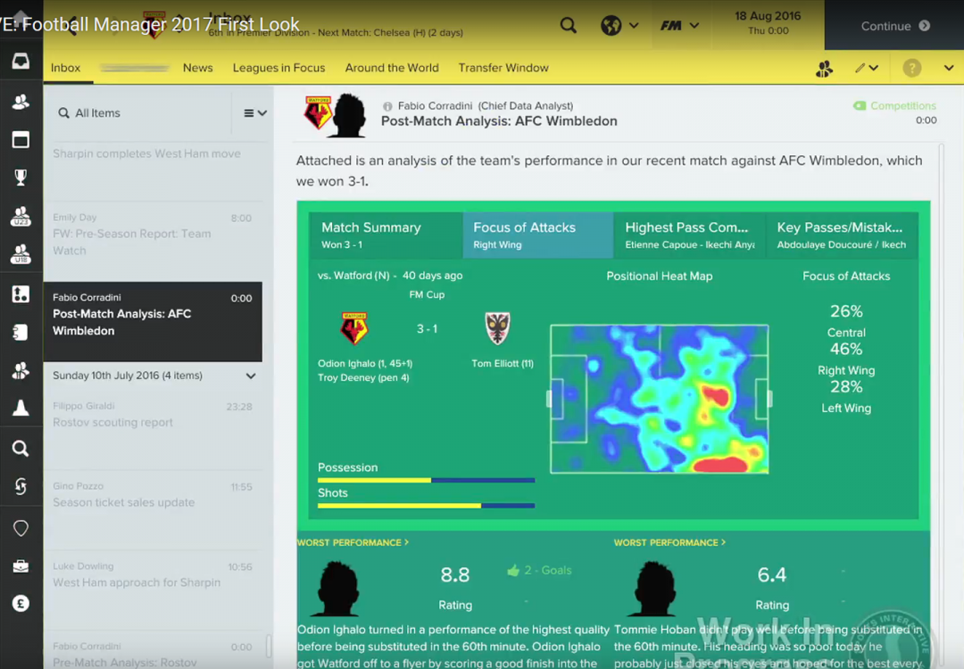FM17 Feature