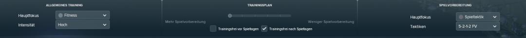 FM18 Training