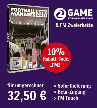 Football Manager 2019 kaufen