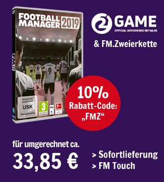 Football Manager 2019 kaufen