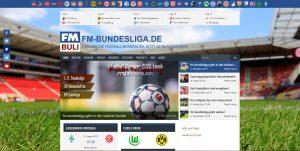 Webseite FM-Bundesliga
