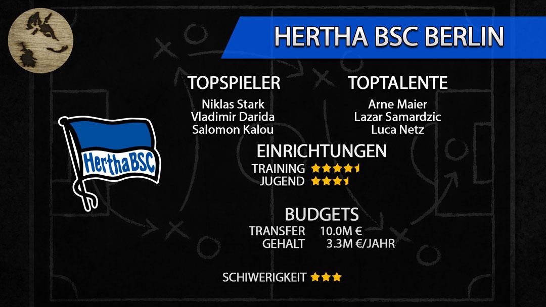 FM20-Teamguide Hertha BSC