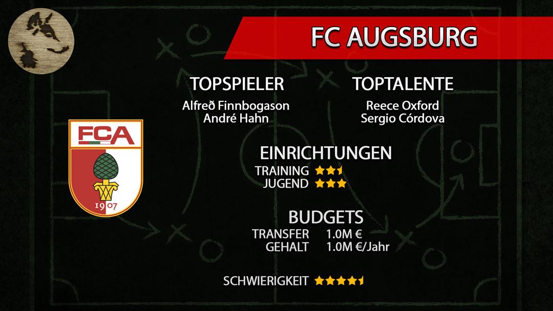 FM20-Teamguide FC Augsburg