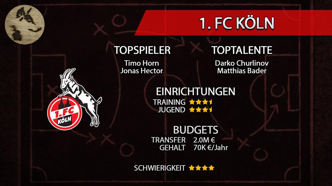FM20-Teamguide Köln
