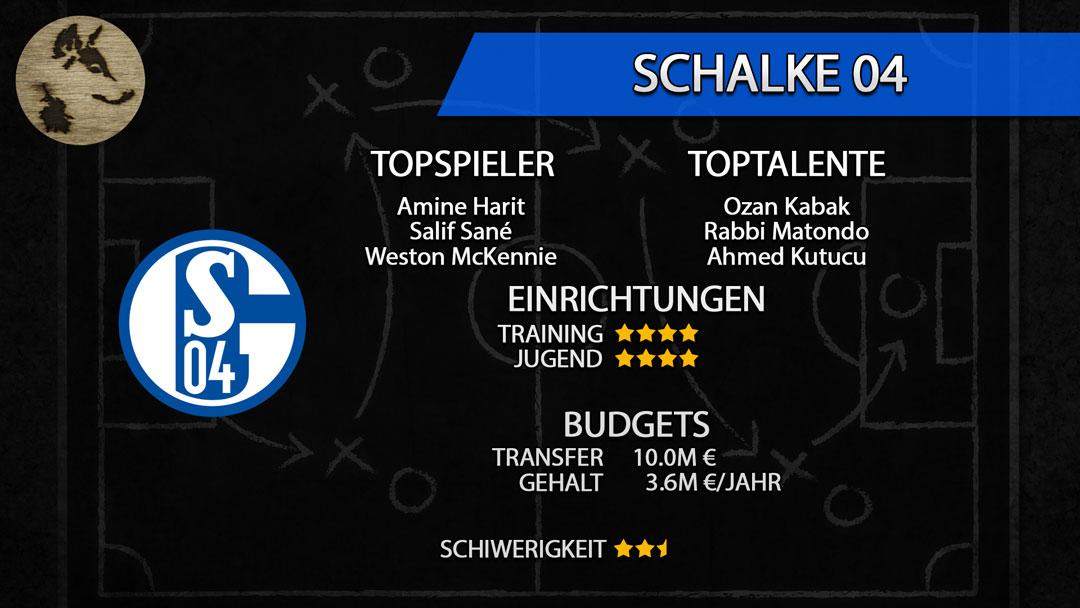 FM20-Teamguide Schalke