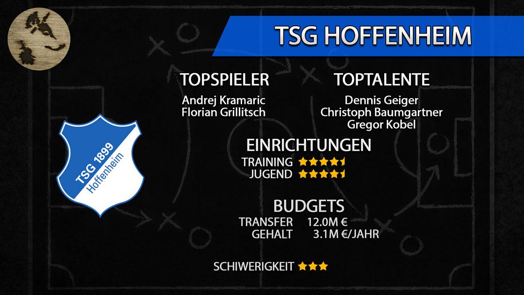 FM20-Teamguide Hoffenheim