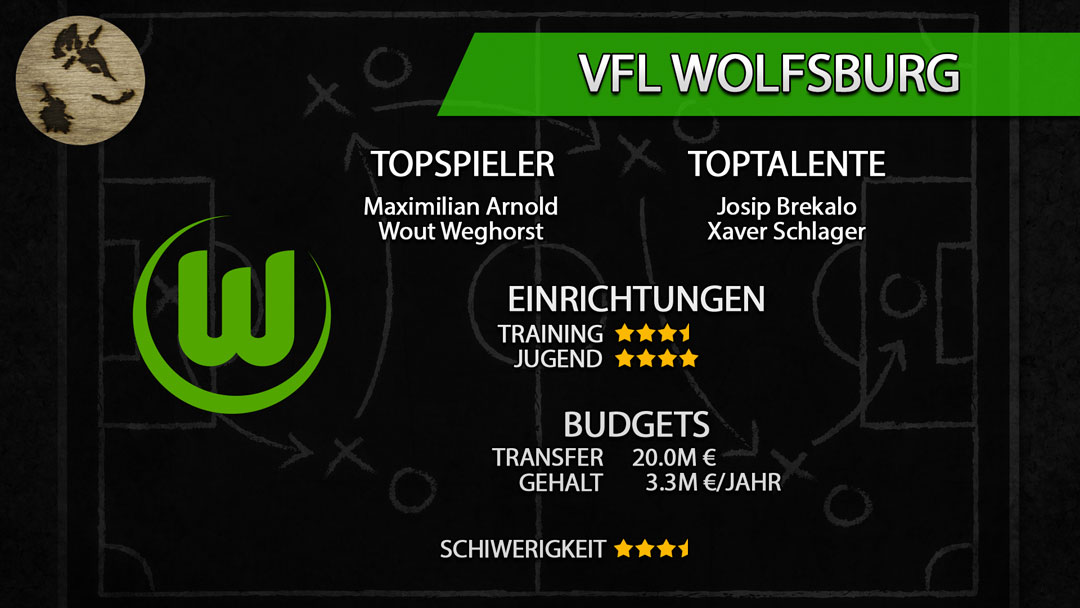 FM20-Teamguide Wolfsburg