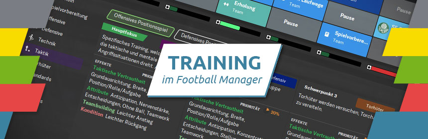 Training im Football Manager