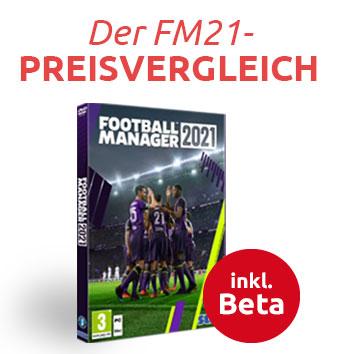 Football Manager 2021 Preisvergleich