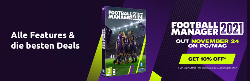 Football Manager 2021 kaufen