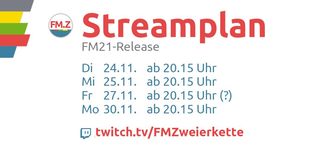 Streamplan FM21-Release