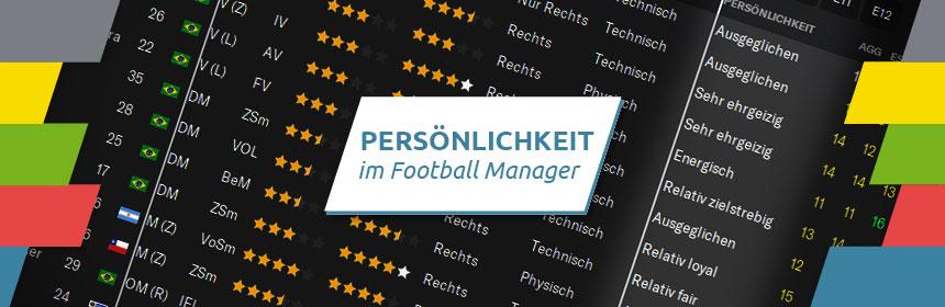 Persoenlichkeit im Football Manager