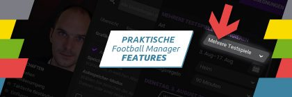 Football Manager Features